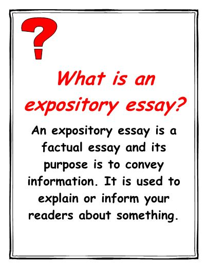 Expository essay about a story