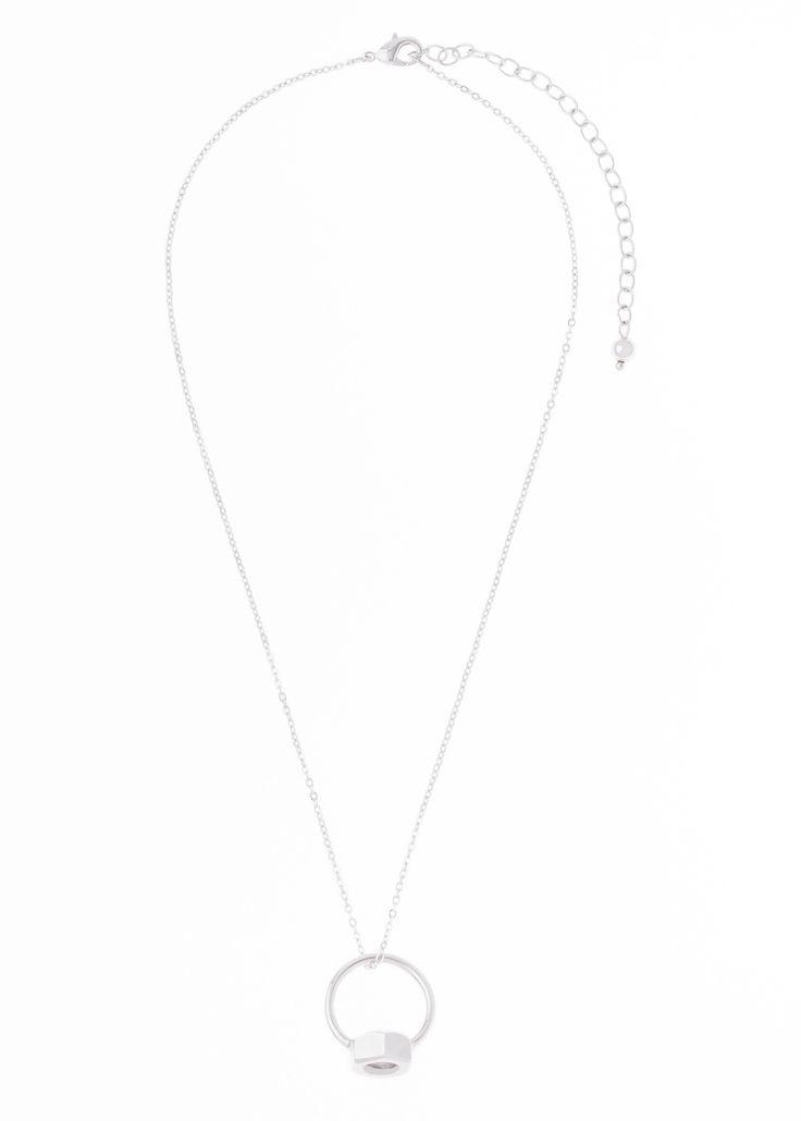 Collar convertible de 45cm de largo y 8cm de extensión, en baño de oro rosa y rodio.  Collar modelo 317751b
