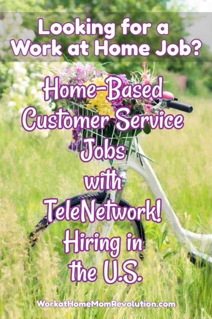 TeleNetwork Partners is hiring home-based customer service agents in the U.S. These work at home positions are entry-level, salaried positions. Paid training. Awesome work from home opportunity available in many U.S. states! You can earn money from home!