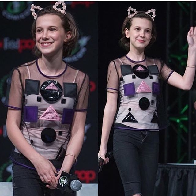 Millie Bobby Brown at Seattle Comic Con