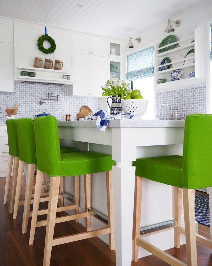 DIY Ikea Henriksdal bar stool covers from Mum Little Loves. - 25+ Best Bar Stool Covers Ideas On Pinterest Stool Cover Crochet
