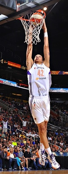 Brittney Griner has dunked 6 times this year and the season's not over yet!!!