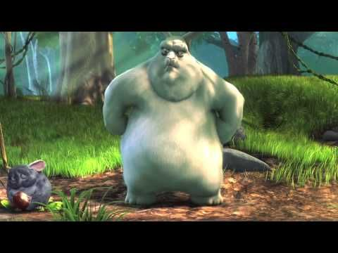 Big Buck Bunny (short pixar movie). Great for making predictions and teaching a little something about bullying! --Pixar Shorts are perfect for little lessons!
