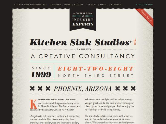 Interesting mix of fonts