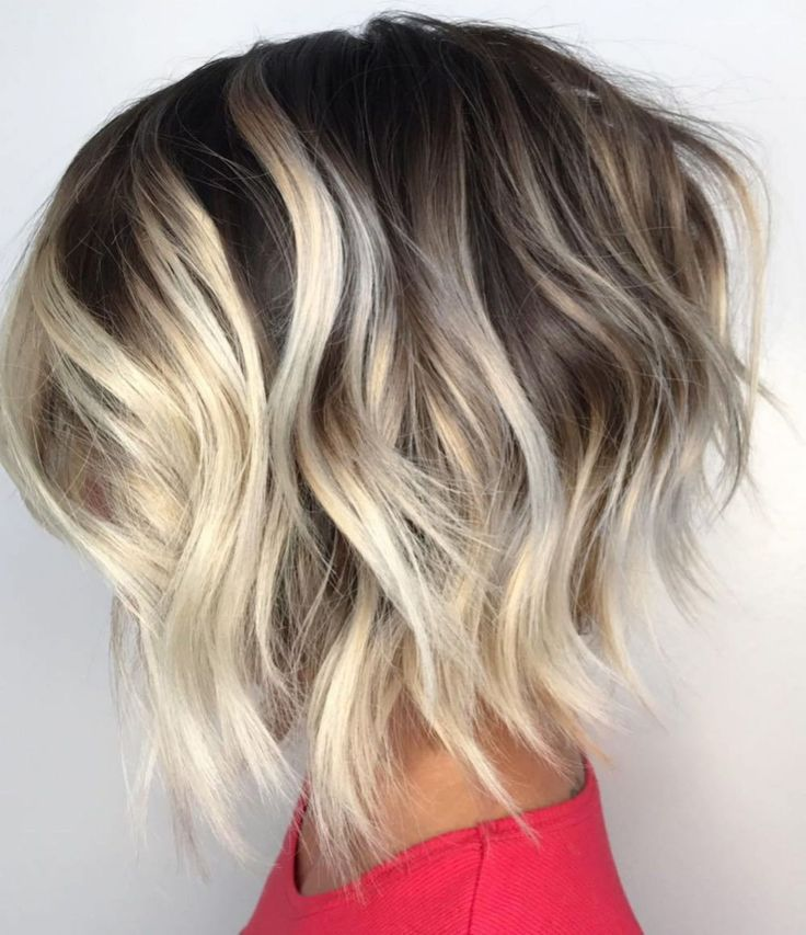 60 most magnetizing hairstyles for thick wavy hair in 2019 m | Thick wavy hair, Wavy bob ...