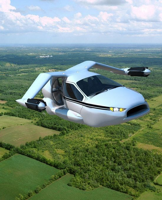 VIDEO: THE FIRST FLYING CAR IS FINALLY HERE, GOES ON SALE 2015- IT CAN TAKE OFF VERTICALLY IN TRAFFIC JAM!