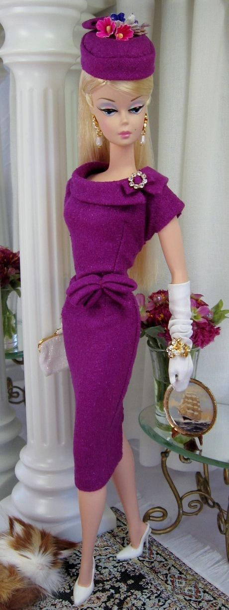 Berry Bliss for Silkstone Barbie/Fashion Royalty and similar size dolls on Etsy now