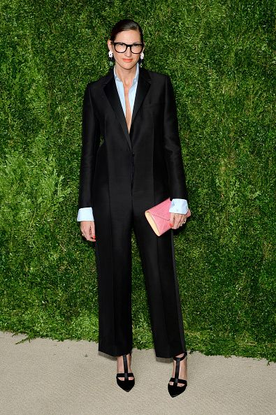 Jenna Lyons of JCrew attends the 12th annual CFDA/Vogue Fashion Fund Awards at Spring Studios on November 2 2015 in New York City
