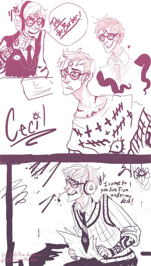 no but CECIL IN SWEATERS