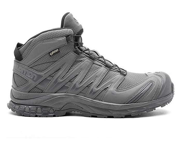 Salomon Mens Xa Forces Mid Backpacking Boot