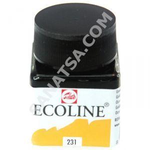 Talens Ecoline Sıvı Suluboya 30 ml. 231 Gold Ochre