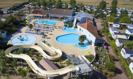 Camping 4* avec piscine chauffée en Vendée: En promotion à 135€. Camping 4* doté de piscines chauffées dans une station labellisée Famille…