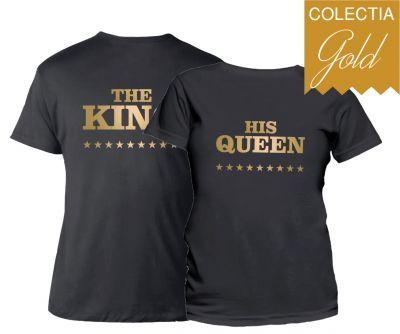 Set tricouri cuplu Royalty
