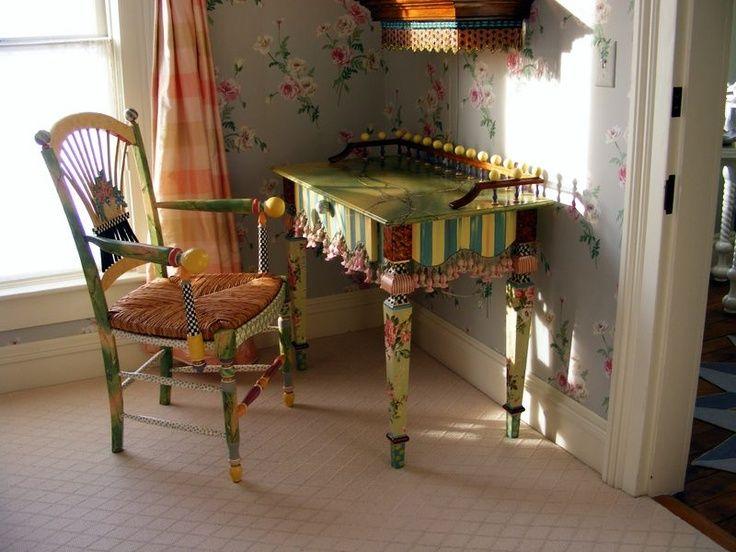 MacKenzie Childs Inspired Furniture | MacKenzie Childs