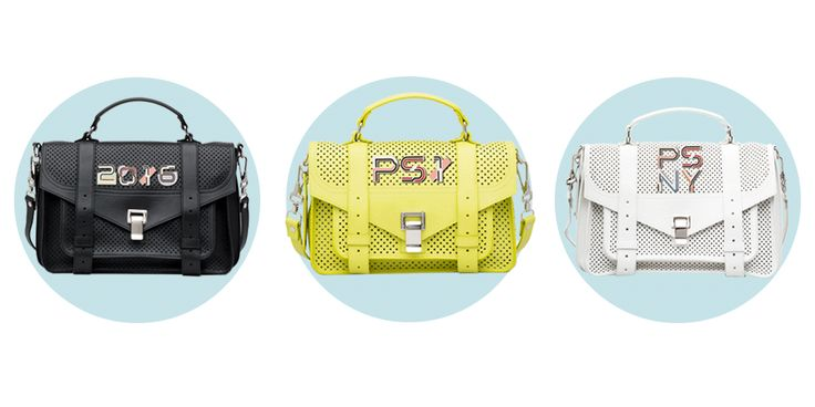 Proenza Schouler is now letting you customize your PS1 Bags  -ELLE.com