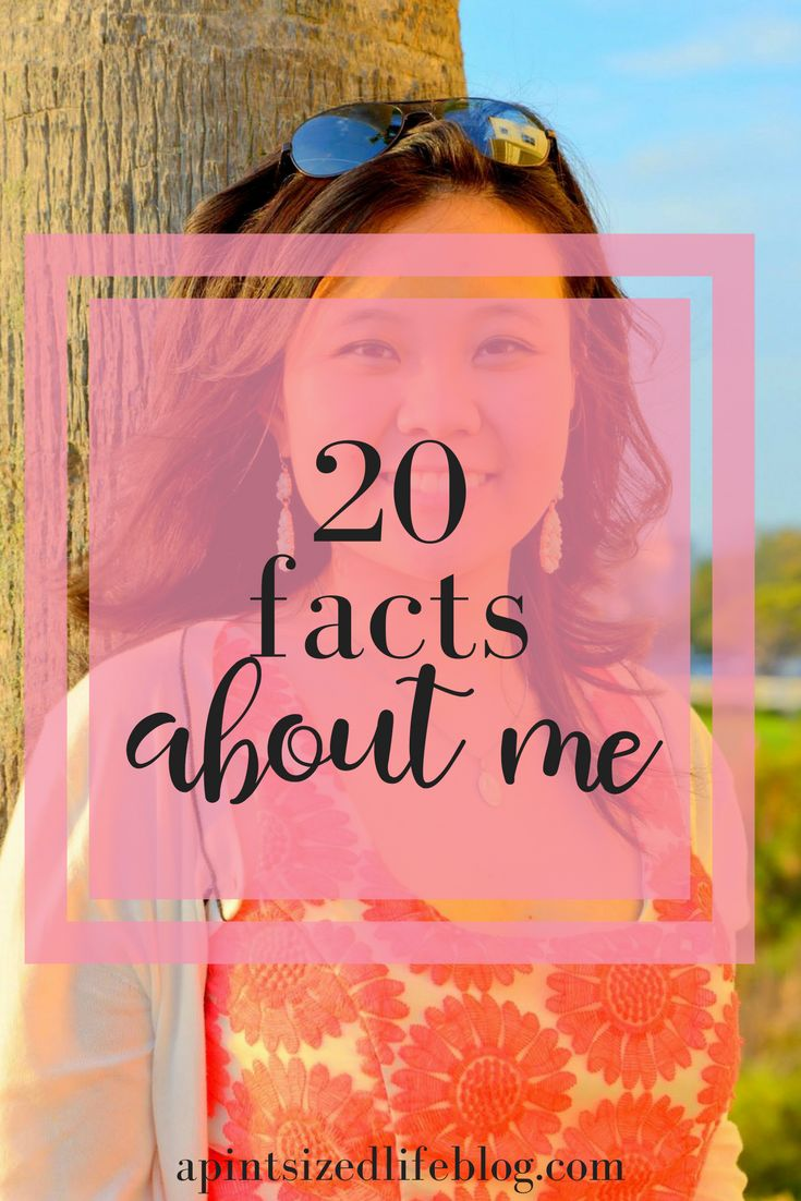 20 facts to re-introduce myself to you and my favorite posts to write.