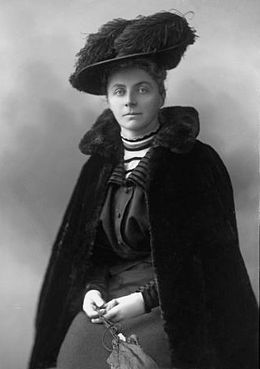 Emily Hobhouse (9 April 1860 – 8 June 1926) was a British welfare campaigner, who is primarily remembered for bringing to the attention of the British public, and working to change, the deprived conditions inside the British concentration camps in South Africa built for Boer women and children during the Second Boer War. The case of Lizzie van Zyl is particularly well-known.