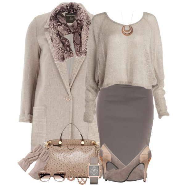 """Contest- Neutrals"" by fashionhobby on Polyvore"