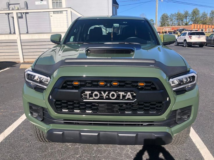 Army green threadlets keep it green in 2020 toyota