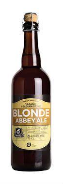 BLONDE ABBEY ALE / Blonde er en kendt øltype, som er brygget siden middelalderen i Europa og specielt i de belgiske klostre. Øllet har en flot gylden farve med en let sødelig smag og en duft af karamel, tørrede frugter og banan. Det hele rundes af med en fin smag af malt og koriander.