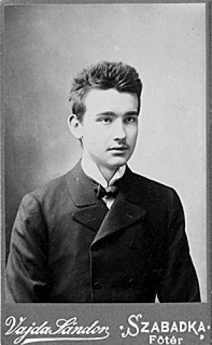 Csáth Géza (1887--1919)  17 évesen