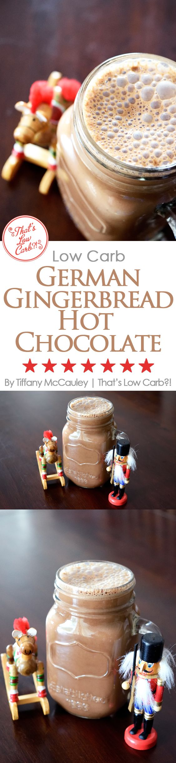Low Carb Recipes | Low Carb Hot Chocolate Recipe | German Gingerbread Hot Chocolate