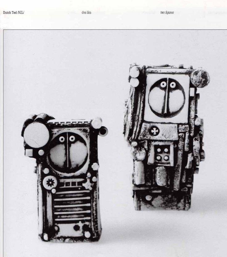 Zagreb III. World Triennial Exhibition of Small Ceramic  DUTCH TED  /NZL/  (Erdinç Bakla archive)