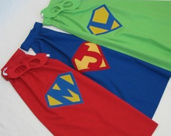 PERSONALIZED Superhero Cape and Mask for girls You by SDKdesigns