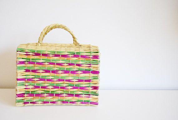Maria La Portuguesa-Market Bag- Market Basket- Straw Basket- Wicker Basket -Grocery Bag- Handmade- Portuguesa - La Petite Sardine