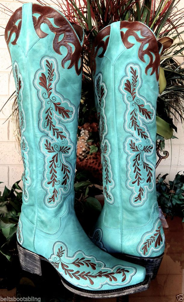 Womens Size 6 Cowboy Boots 54