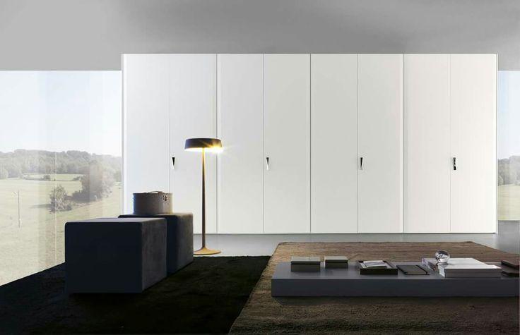 #bed #nightstand #bedroom #closet #slidingdoors #leafdoors #interiordesign #design #modern #contemporary #madeinitaly #salonedelmobile #fieradelmobile #isaloni #fieramilano #luxury #glamour #artdeco #fimes #dresser #tvunit #sofa #mirror
