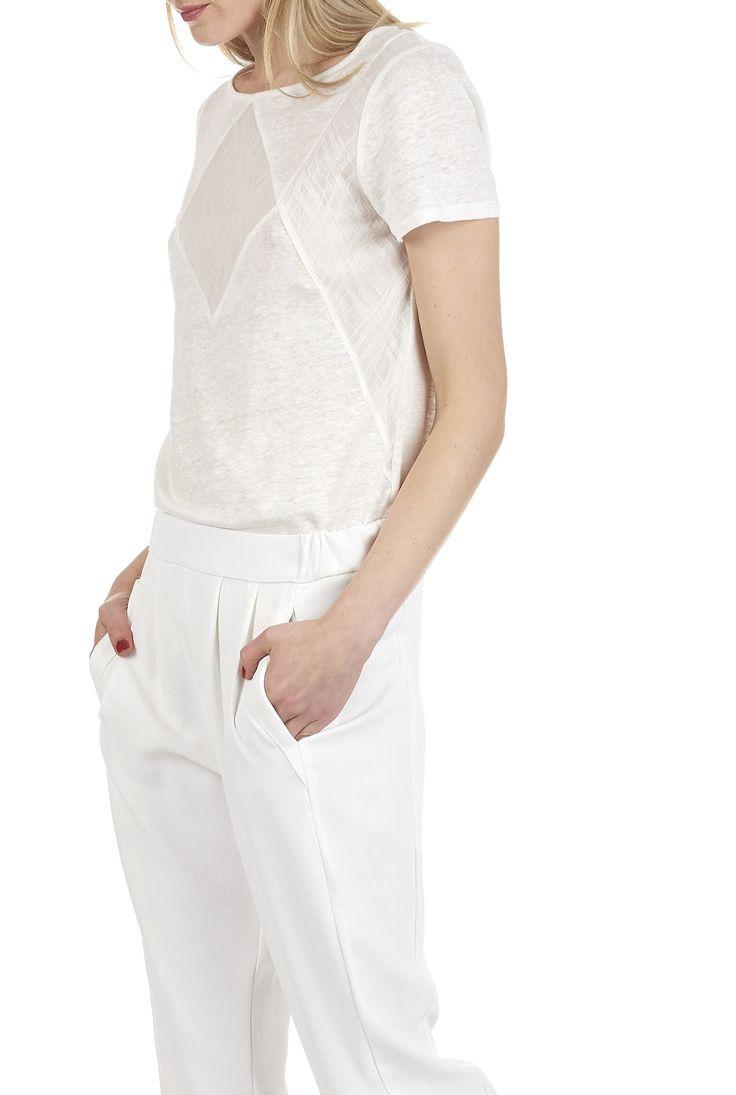 Les 20 meilleures id es de la cat gorie tee shirt dentelle - Place des tendances comptoir des cotonniers ...