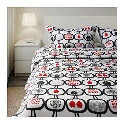 1000 ideas about ikea duvet on pinterest painted headboards duvet covers and duvet. Black Bedroom Furniture Sets. Home Design Ideas
