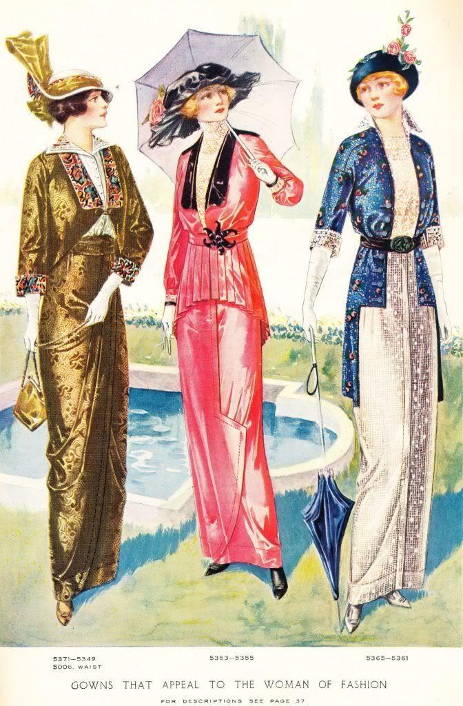 umbrella fashion illustration | Fashion illustration from