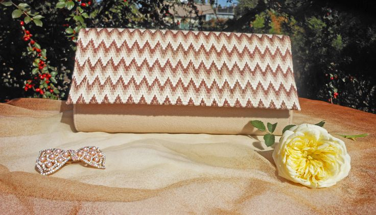 """Clutch """"Florence"""": cashmere, Florentine embroidery"""