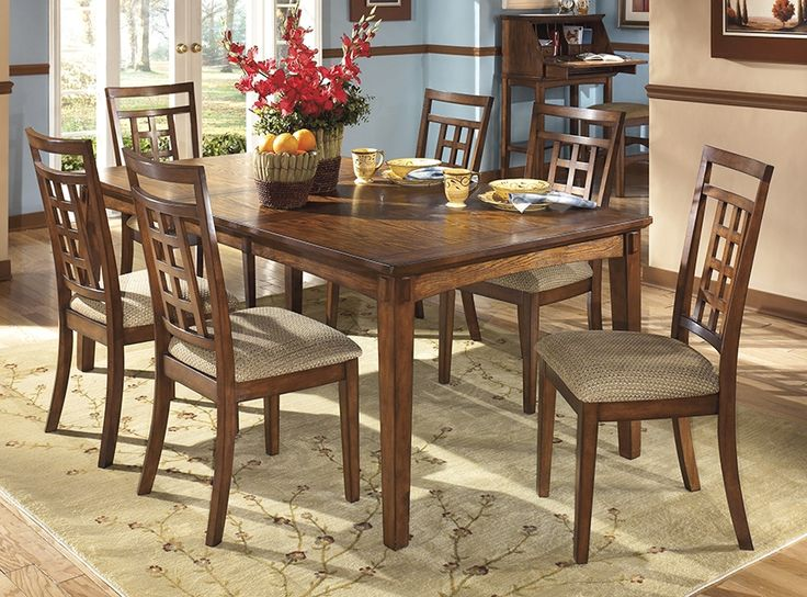 Cross Island Rectangular Extension Table Signature Design By Ashley