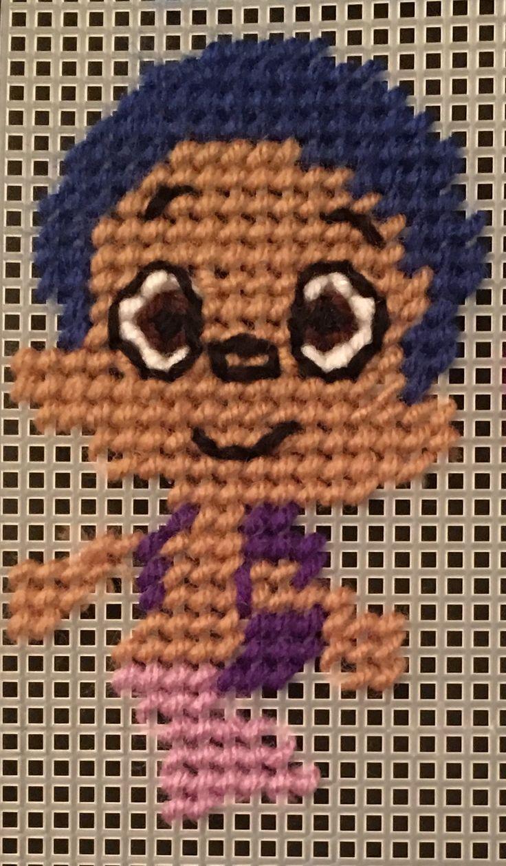 32 best bubble guppy cross stitch images on pinterest bubble