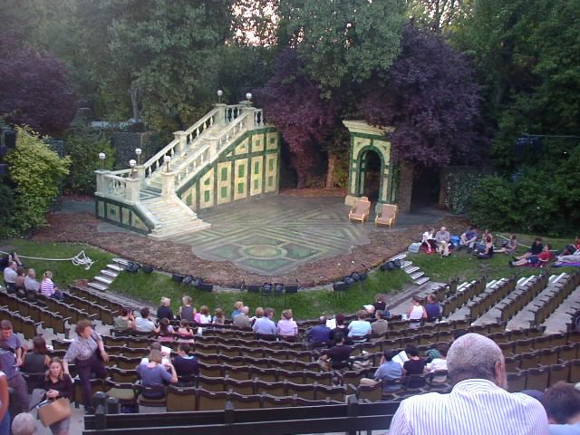 Open air theatre in Regents Park