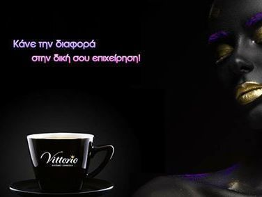 Aν έχεις επιχείρηση που προσφέρει καφέ espresso στους πελάτες της κλείσε ραντεβού για να δοκιμάσεις τον πιο γευστικό Gourmet Espresso στην Ελλάδα!  @vittorioespresso  Ο καφές Vittorio Gourmet ποιότητας Speciality προέρχεται από πιστοποιημένους εξαιρετικούς κόκκους arabica που μεγαλώνουν σε συγκεκριμένες κλιματολογικές συνθήκες.  Μόνο το 8-10% της παγκόσμιας παραγωγής μπορεί να χαρακτηριστεί speciality. Vittorio Gourmet Espresso για υψηλές απαιτήσεις απολαύσεων!  Πληροφορίες : 210 5448267…