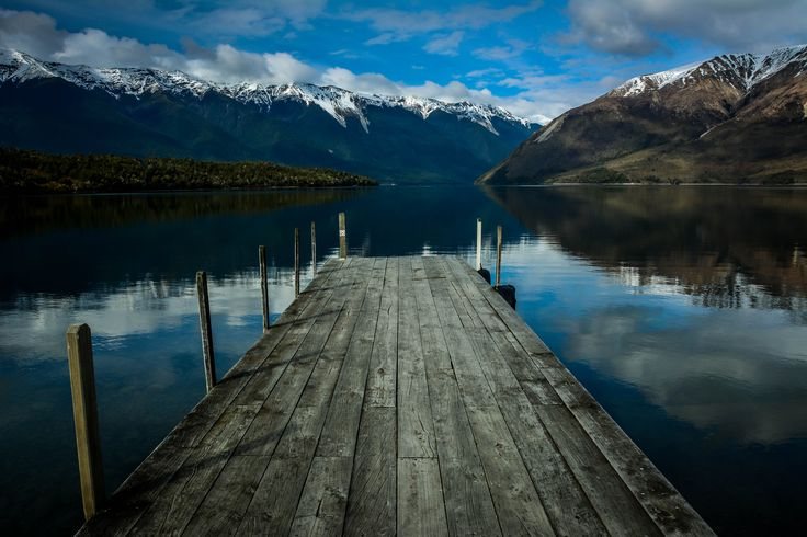 Lake Rotoiri, Nelson Lakes National Park, New Zealand