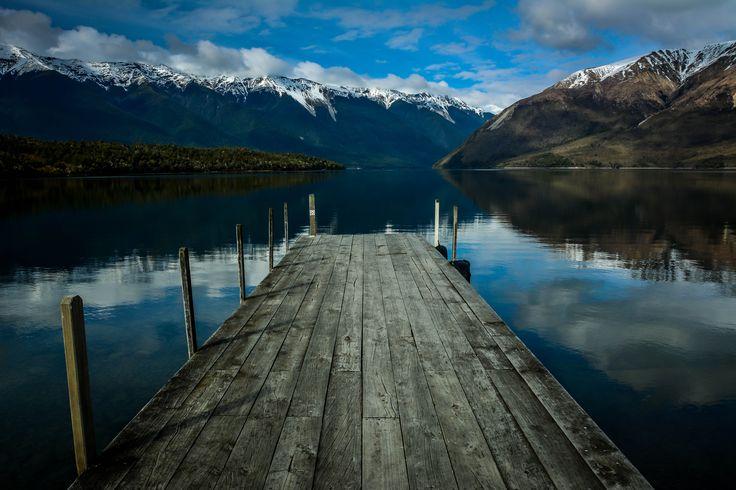 Lake Rotoiri, Nelson Lakes National Park, New Zealand