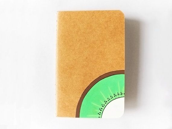 Handpainted journal decorated notebook with by InspirationalGecko, €7.00