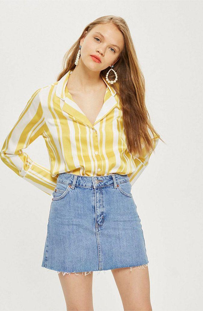 d9aa104fef Currently Craving: Mini Skirts | wear | Denim mini skirt, Mini ...