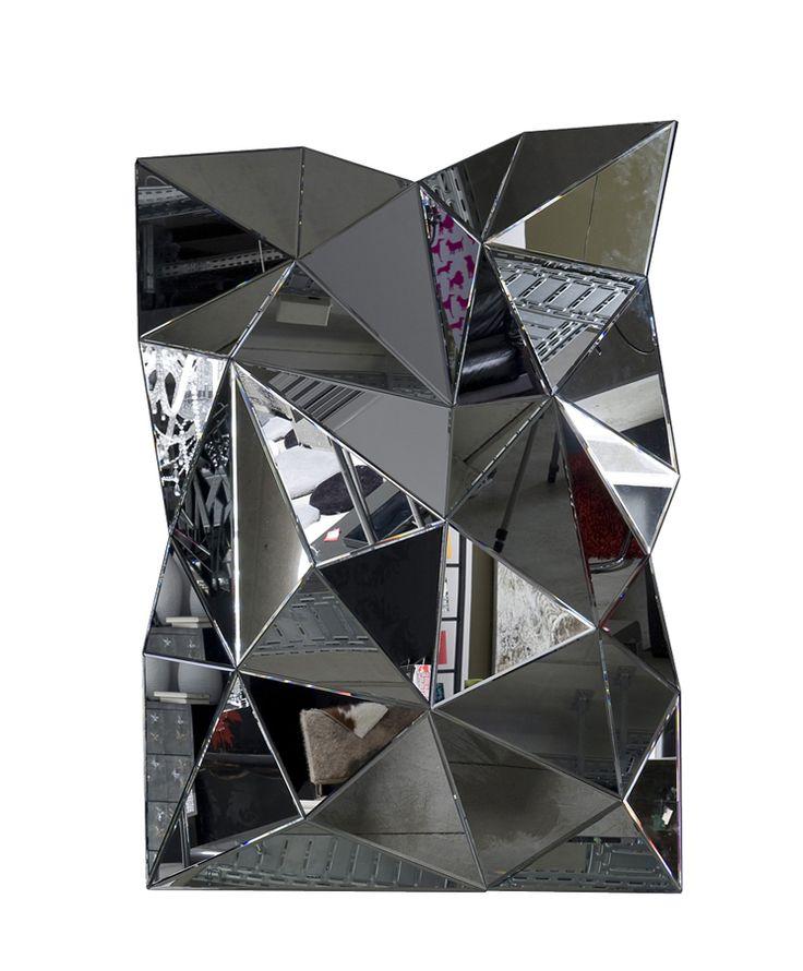 Specchio Prisma 120x80 Design di interni moderno, Art