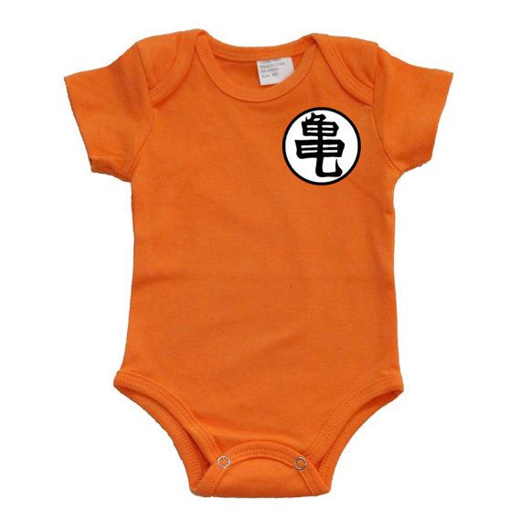 Goku Dragon Ball Z Baby Onesie Bodysuit By Gogetyourgeekon