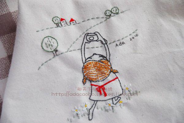 Embroidery: Take a photo