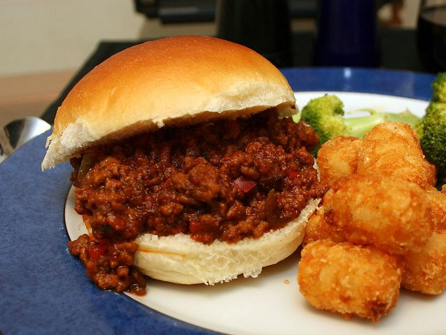 Fabulous Sloppy Joes from Scratch--for two!