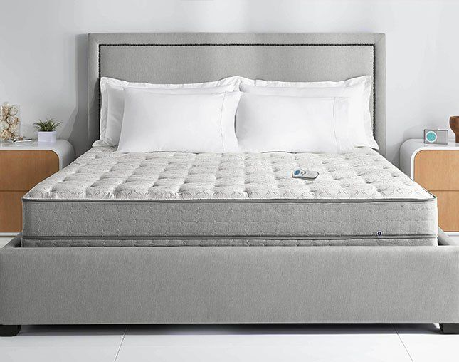 This smart mattress will help you sleep better - click here to find our 7 best sleep gadgets of 2017 :)
