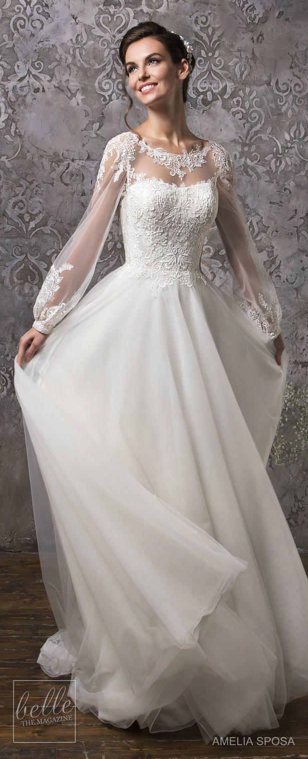 Amelia Sposa wedding dress collection