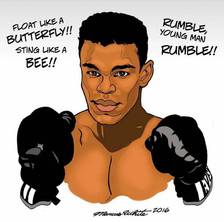 100 best Muhammad Ali  - best of boxing blueprint meaning